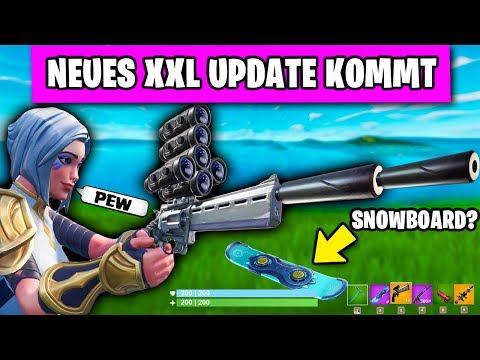 NEUES Update - Scoped Revolver, Snowboard Und Alle BEKANNTEN Änderung | Fortnite Season 7 Deutsch