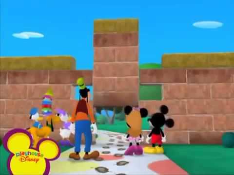 La casa de mickey mouse en espa ol el equipo amistad - Youtube casa mickey mouse ...