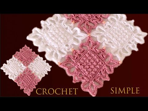 como-tejer-a-crochet-tapete-camino-de-mesa-punto-cruz-reversible-imitación-bordado-a-mano