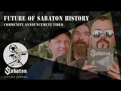 The Special Edition is here – Future plans – Sabaton History Breakfast Club June 2019