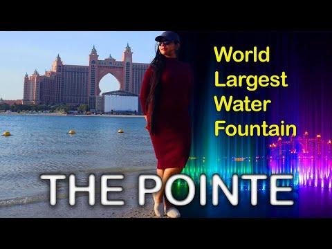 World Largest Water Fountain | THE POINTE | Palm Jumeirah | Dubai | UAE | VLOG 12 | 022