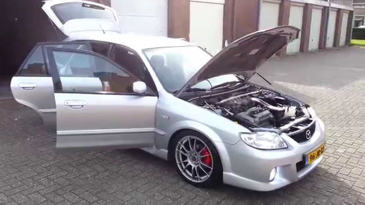 Mazda 323f 1 6i Sportive 2002 Youtube