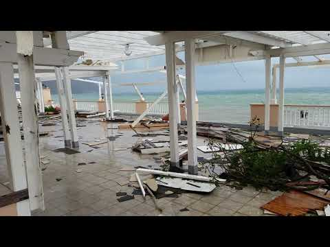 Hotel in Dominica after the hurricane 4