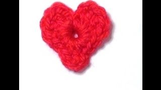 Crochet Heart - Crochet Heart Tutorial - Crochet Hearts