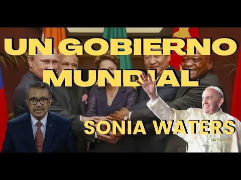 🔴 SONIA WATERS - UN GOBIERNO MUNDIAL #soniawaters #israel #últimostiempos #profeciasbiblicas