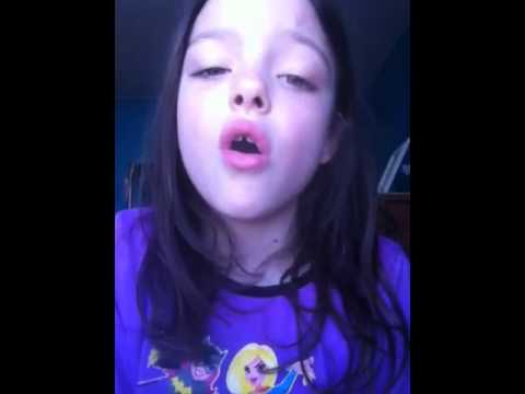 7 year old singing 50 states in alphabetical order