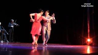 """Mano Brava"". Ariadna Naveira and Fernando Sanchez with ""Solo Tango orchestra"". Танго."