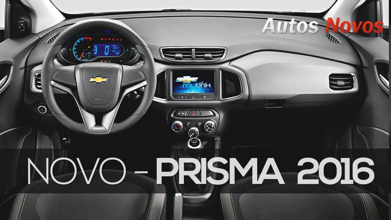 Novo Chevrolet Prisma 2016 Youtube
