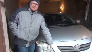 видео Лампа ближнего света Тойота Королла: инструкция по замене
