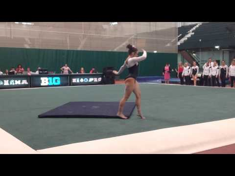 MSU vs PSU - Floor - Holly Ryan