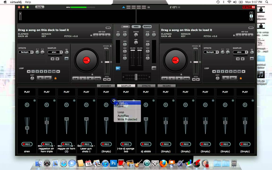 virtual dj sampler