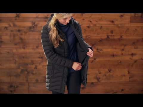Duluth Trading Women's Cold Faithful 800 Fill Down Coat & Jacket