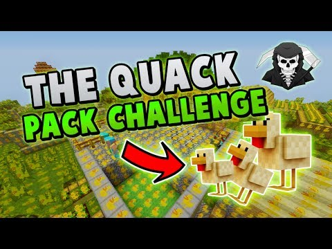 AciDicBliTzz DOES THE QUACK PACK CHALLENGE! ( Hypixel Skywars )