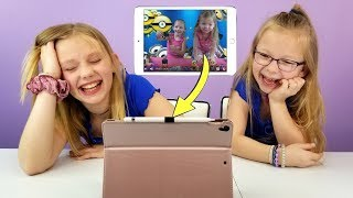 REACTING TO OUR OLD VIDEOS!!! Video