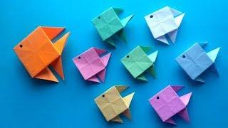 як зробити рибу з паперу