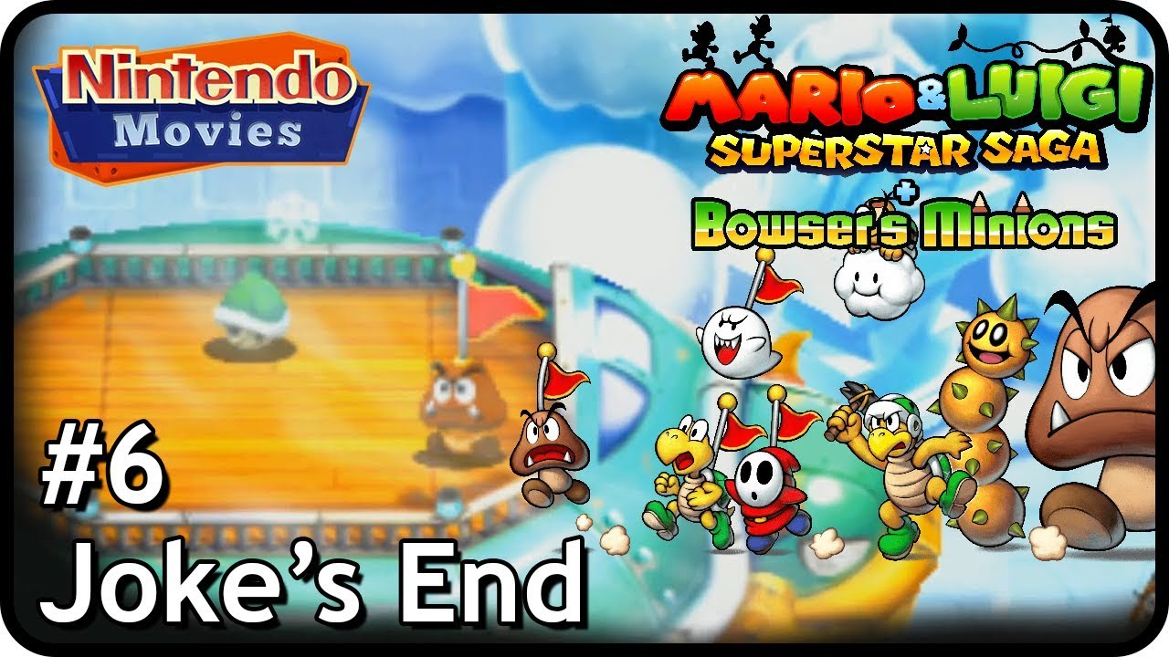 Mario Luigi Superstar Saga Bowser S Minions Mq Episode 6 Joke S End