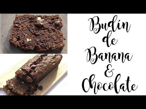 Budín de Banana y Chocolate   Hoy Cocino Yo
