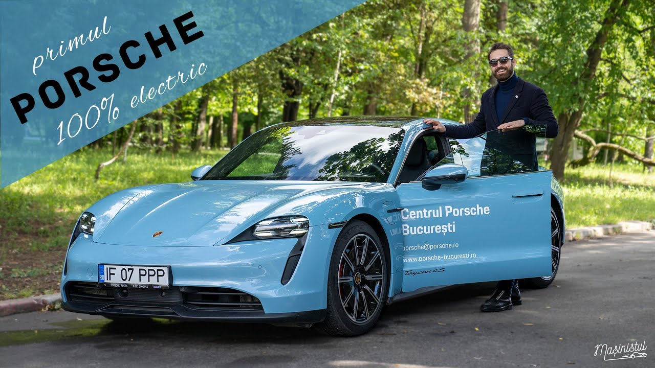 Porsche Taycan 4S – Spiritul Evoluției