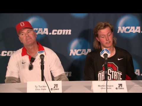 Men's Tennis - Ohio State Round of 16 - Press Conference