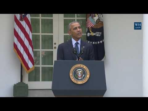 President Obama Delivers a Statement on the Paris Agreement