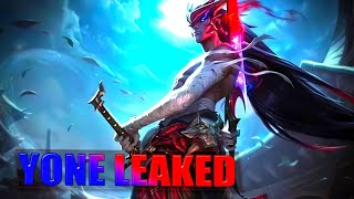 YONE NEW CHAMPION LEAKED Splash Art - League of Legends