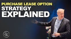PURCHASE LEASE OPTION STRATEGY EXPLAINED | Simon Zutshi