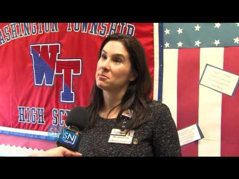 Washington Township High School Partners with Kennedy Health for Career Fair
