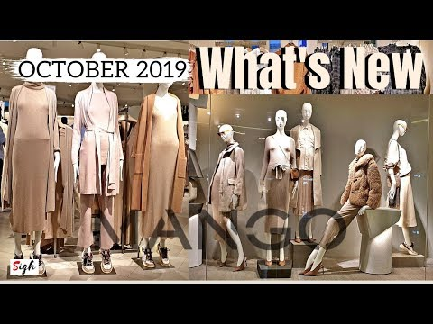 MANGO OCTOBER 2019 COLLECTION #NEW In Mango What's In Store
