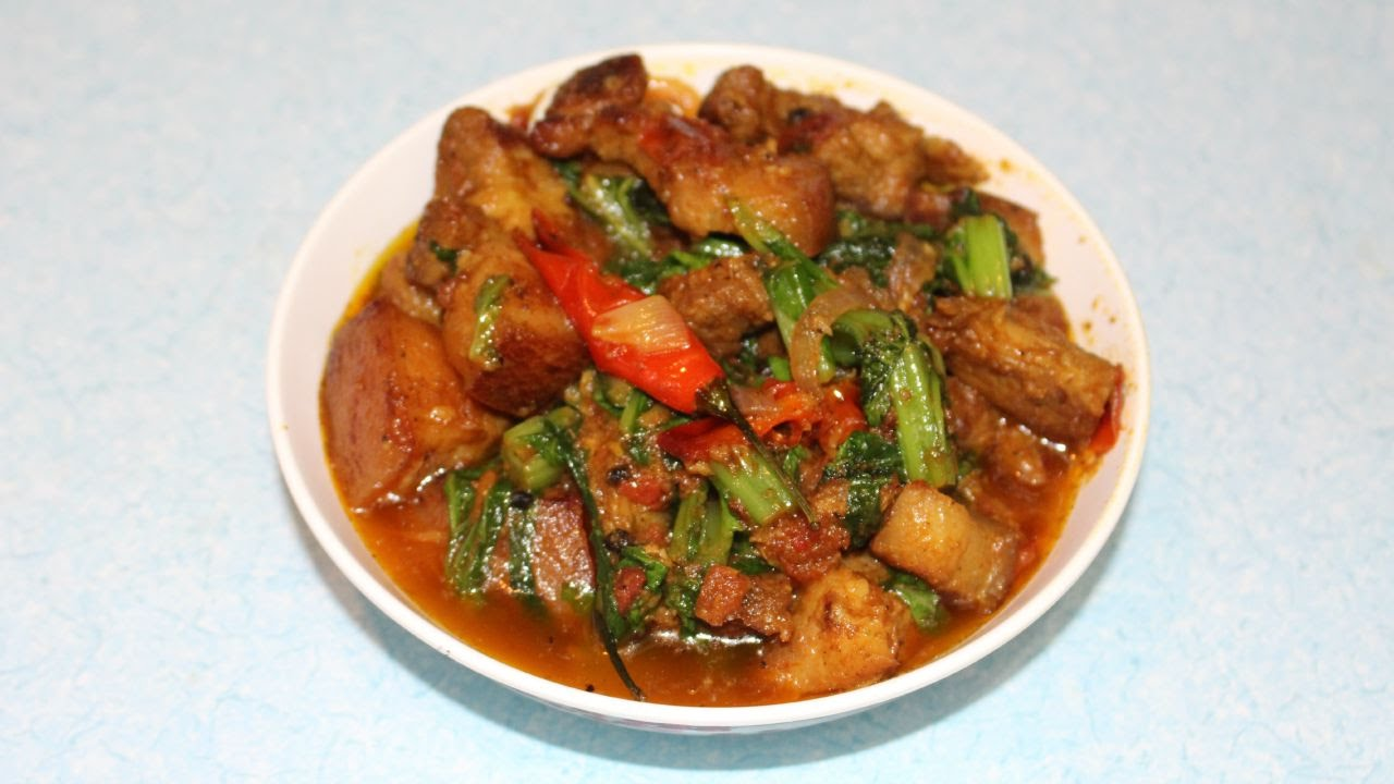 Pork Curry In Nepali Style Youtube
