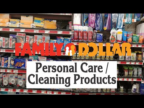 FAMILY DOLLAR - PERSONAL CARE And CLEANING PRODUCTS - Shop With Me Store Walk Through With Prices