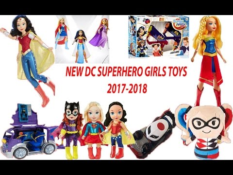 New From Dc Superhero Girls 1 Toys Coming Soon 2017 2018