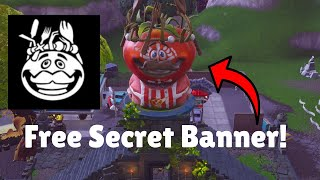 How to Get a Free Secret Fortnite Banner! (Week 8 Secret Banner)