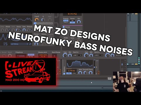 Mat Zo - Bass Noises - Live Stream From MAD ZOO HQ - 10.15.19