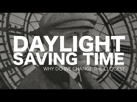 Why do we change our clocks back and forth?