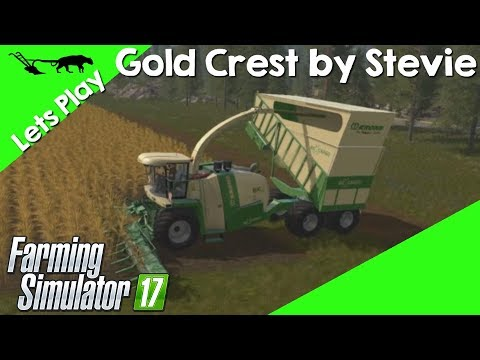 Let's Play Farming Simulator 17 Gold Crest By Stevie Episode 32