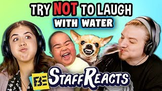 try to watch this without laughing or grinning with water 6 ft fbe staff