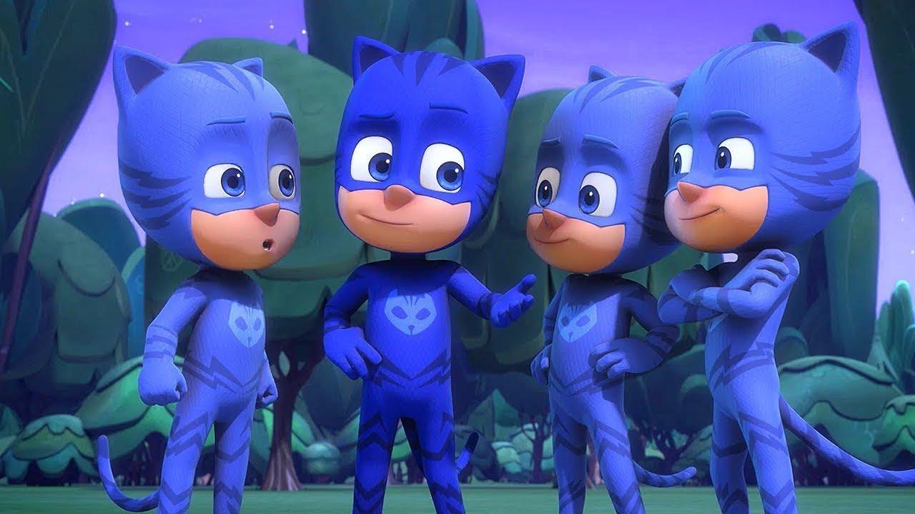 PJ Masks in Hindi - Catboy Squared- हिंदी Kahaniya - Hindi Cartoons for Kids