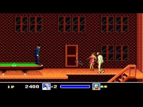 Michael Jackson Moonwalker Gameplay SEGA HD