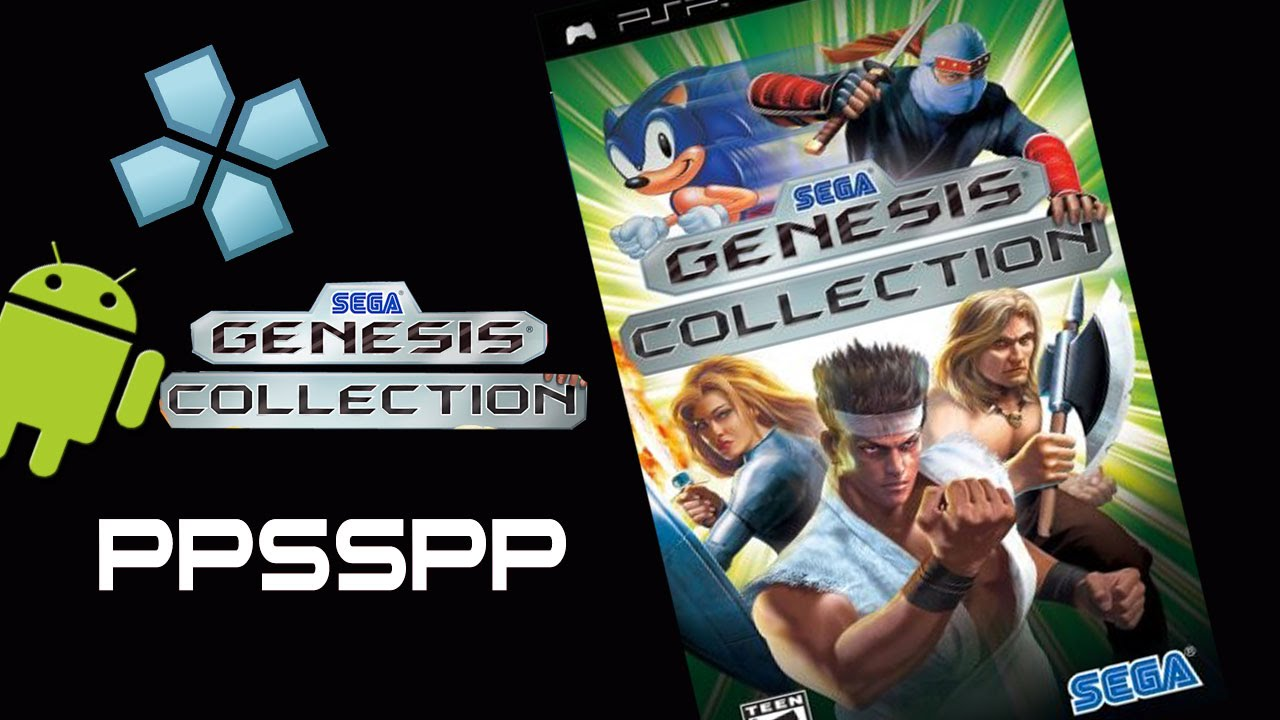 Ppsspp Emulator Sega Genesis Collection Psp On Android