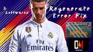 How To Regenerate FIFA 14 ➥ FIFA 17/18 Patches ✪ [ 3 Softwares ] + Download Links ✪ {PC} ✪ (HD)