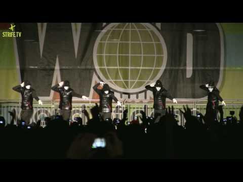 Jabbawockeez HD  World of Dance 2010 Pomona, CA