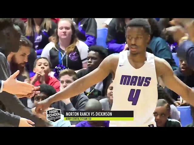 Morton Ranch vs Dickinson Basketball