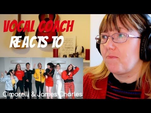 Vocal Coach Reacts to James Charles & Cimorelli 'Demi Lovato Medley&39;
