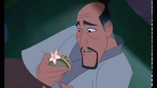 Mulan takes her fathers place