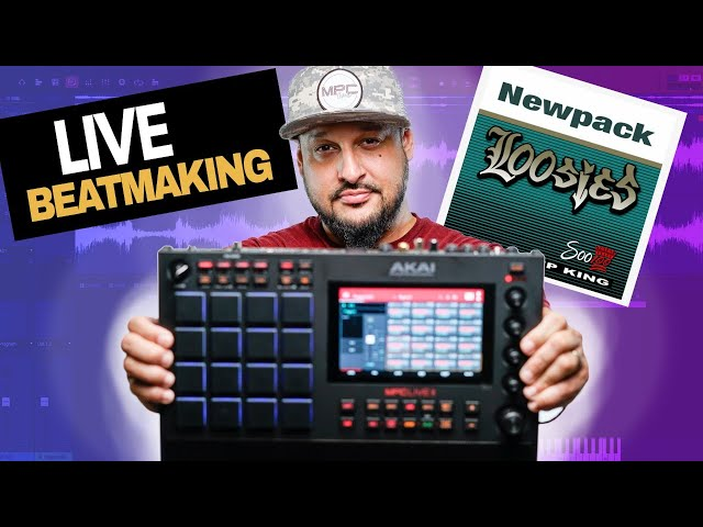 🔴Akai MPC Live 2 Chat, Beatmaking with Soo 100 Loosies Expansion |