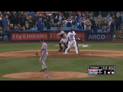 Glover fans Puig for save as tensions rise