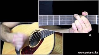 Bob Dylan - Like a Rolling Stone guitar lesson (Уроки игры на гитаре Guitarist.kz)