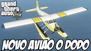 GTA V NOVA GERAÇÃO - Novo Avião que anda na água, o RETORNO DO DODO