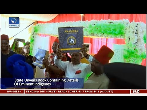Anambra State Unveils Book Containing Details Of Eminent Indigenes