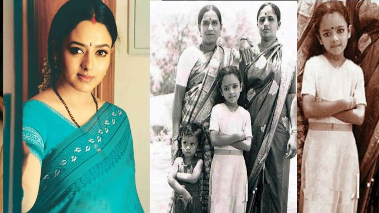 Soundarya Childhood And Family Pictures   Tollywood Actress Soundarya Unseen Photos   News Mantra - YouTube